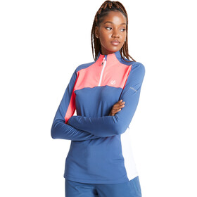 Dare 2b Default Core Stretch Bluza Kobiety, dark denim/neon pink/white